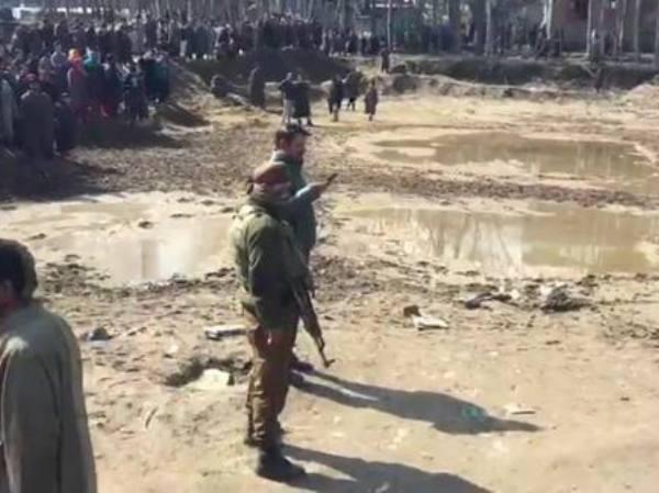 Binh sĩ quân đội Ấn Độ ở khu vực Kashmir