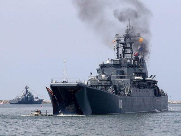 Các tàu chiến của hải quân Nga