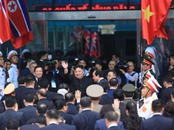 Chủ tịch Triều Tiên Kim Jong-un đến Việt Nam dự Hội nghị thượng đỉnh Mỹ-Triều Tiên, ngày 27-2-2019