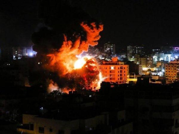 Dải Gaza hứng chịu các cuộc không kích của quân đội Israel, ngày 25-3-2019