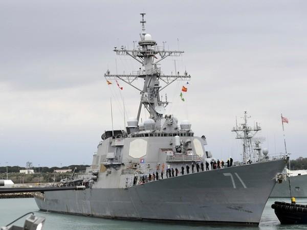 Tàu khu trục USS Ross của hải quân Mỹ