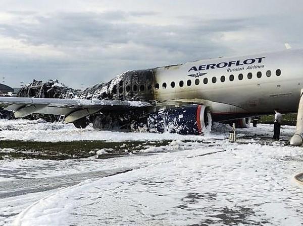 Hiện trường vụ tai nạn máy bay xảy ra ở Murmansk của Nga, ngày 5-5-2019