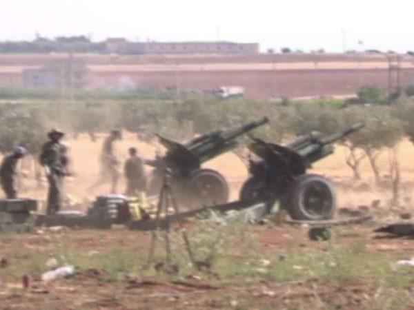 SAA tấn công khu vực có trạm quan sát của Thổ Nhĩ Kỳ gần biên giới Idlib, ngày 12-5-2019