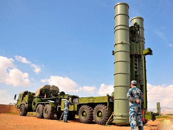 Hệ thống phòng không S-300 được Nga triển khai ở Syria
