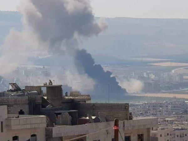 Syria: Nổ bom xe ở Afrin, gần 40 người thương vong ảnh 1