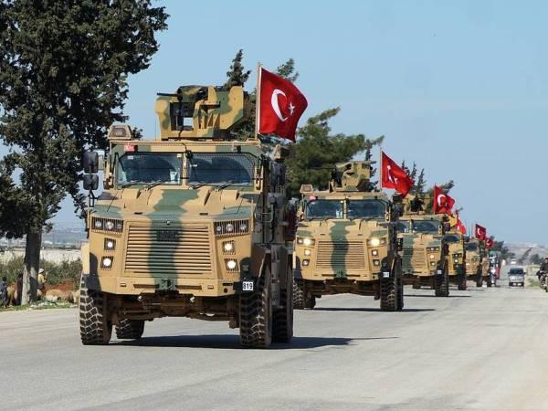 Đoàn xe quân sự của Thổ Nhĩ Kỳ ở Syria