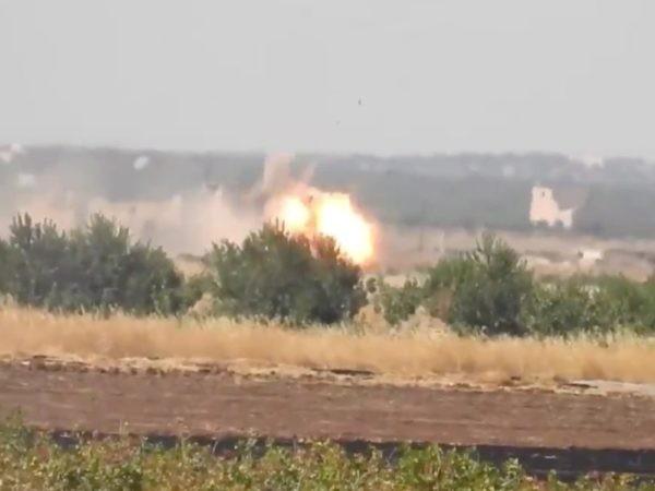 Mặt trận Khan Sheikhoun ở tỉnh Idlib, ngày 14-8-2019