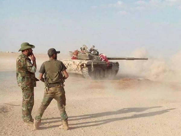 Quân đội Syria ở mặt trận phía nam tỉnh Idlib