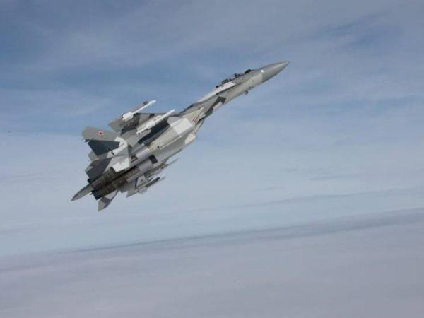 Chiến đấu cơ Su-35 của Nga ngăn chặn các cuộc không kích của Israel vào Syria
