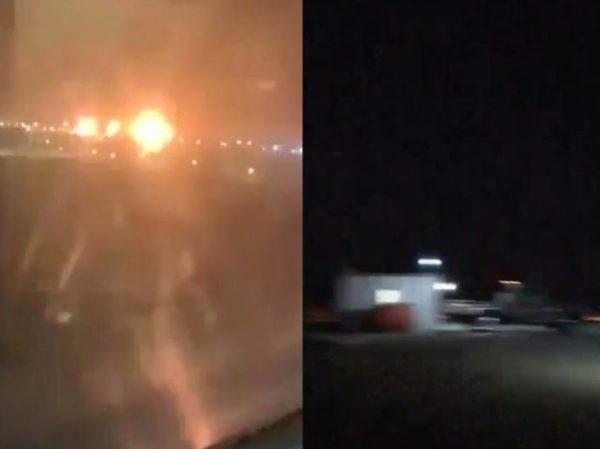 Hai UAV của phiến quân Houthi tấn công các cơ sở dầu mỏ của Saudi Arabia, ngày 15-9-2019