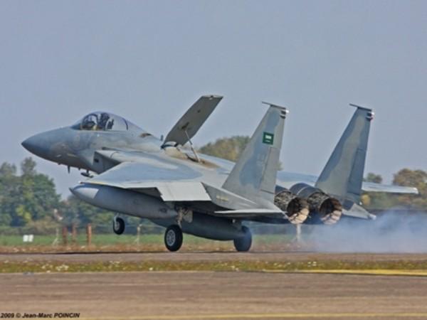 Chiến đấu cơ F-15C của không quân Hoàng gia Saudi Arabia