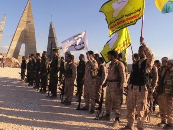 Lực lượng SDF được Mỹ hậu thuẫn