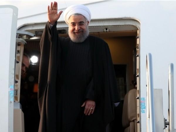 Tổng thống Iran Hassan Rouhani tới New York, Mỹ, ngày 23-9-2019