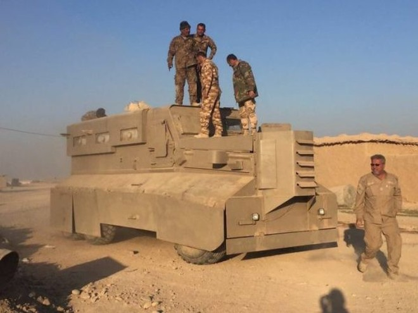 Lực lượng bán quân sự Hashd Shaabi tại Iraq