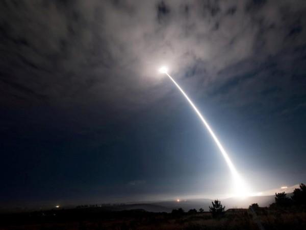 Một vụ phóng thử tên lửa đạn đạo liên lục địa của không quân Mỹ