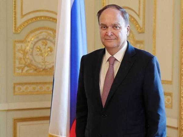 Đại sứ Nga tại Mỹ, ông Anatoly Antonov