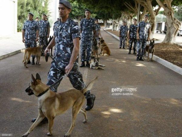 Lực lượng an ninh Lebanon