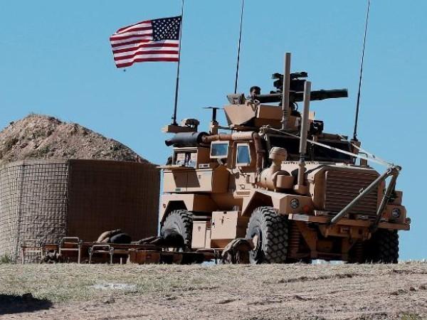 Xe quân sự Mỹ ở Syria