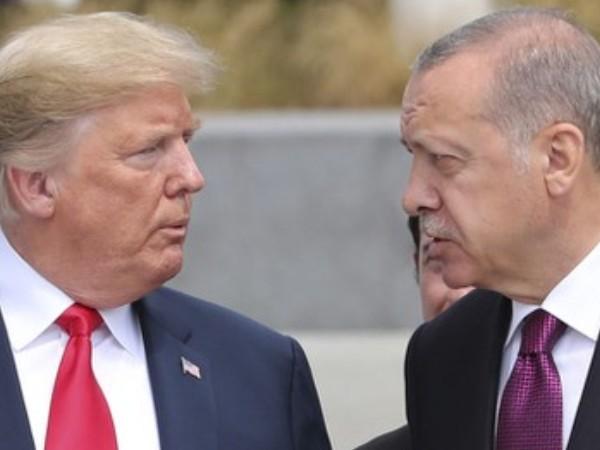 Tổng thống Mỹ Donald Trump và người đồng cấp Thổ Nhĩ Kỳ Recep Tayyip Erdogan