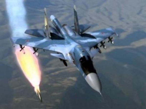 Máy bay chiến đấu Nga làm nhiệm vụ diệt khủng bố ở Syria