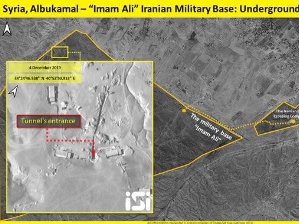 Hình ảnh vệ tinh tiết lộ Iran củng cố căn cứ bằng các đường hầm mới