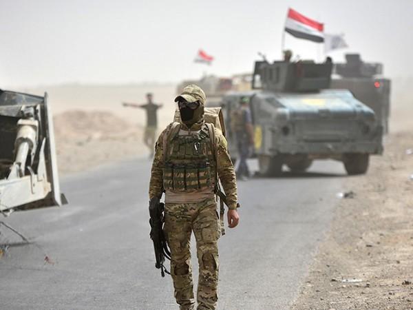Lực lượng vũ trang Iraq gần Kirkuk