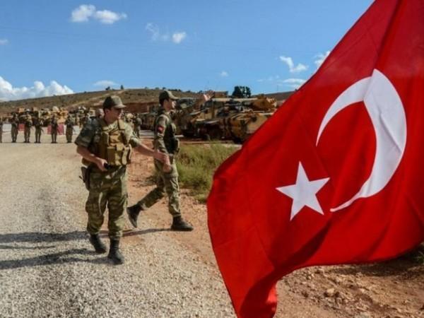 Quân đội Thổ Nhĩ Kỳ hiện diện ở Syria
