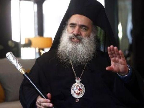 Tổng Giám mục Chính thống ở Jerusalem, ông Atallah Hanna