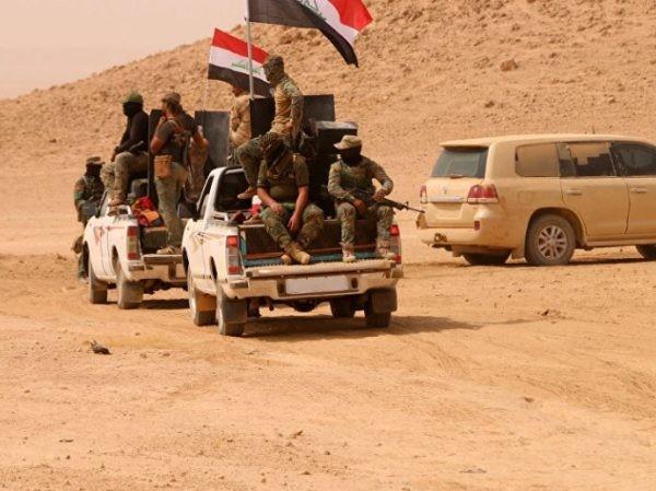 Quân đội Iraq ở phía Tây tỉnh Anbar