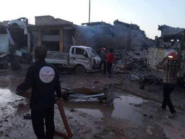 Syria: Nổ lớn ở Bắc Raqqa, nhiều lính Thổ Nhĩ Kỳ thiệt mạng ảnh 1