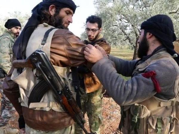 Các tay súng ở Idlib, Syria