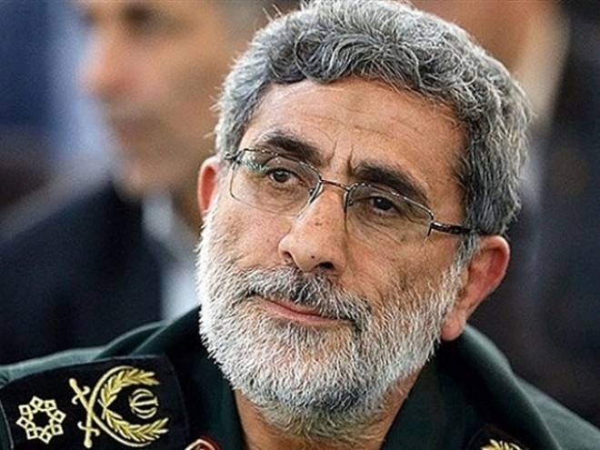 Tư lệnh Lực lượng đặc nhiệm Quds thuộc IRGC, tướng Esmail Qaani