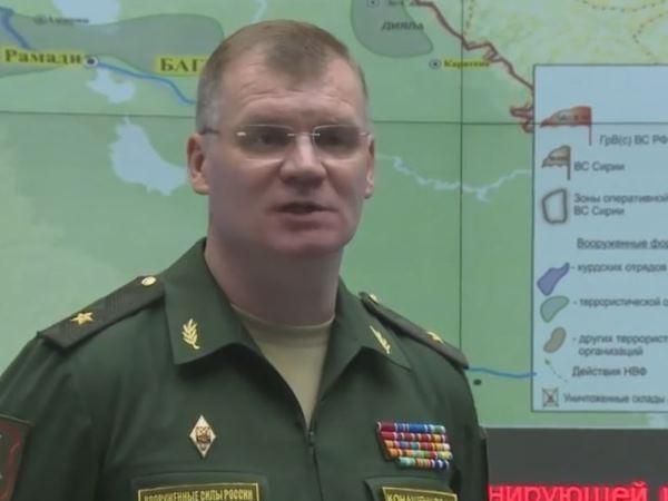 Người phát ngôn Bộ Quốc phòng Nga, ông Igor Konashenkov