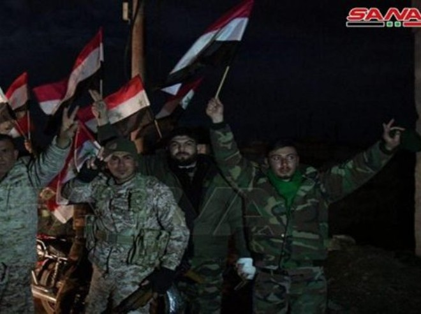 Lực lượng quân đội Syria ở Aleppo