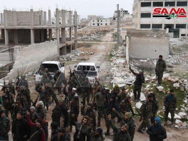 Binh sĩ SAA ở Idlib