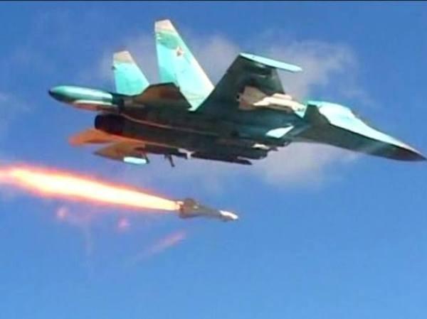 Chiến đấu cơ Nga hoạt động trên bầu trời Syria