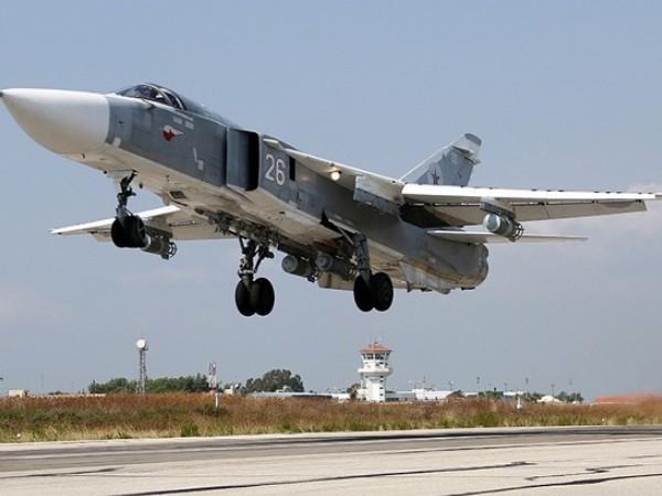 Chiến đấu cơ Nga xuất kích làm nhiệm vụ diệt khủng bố ở Idlib, Syria