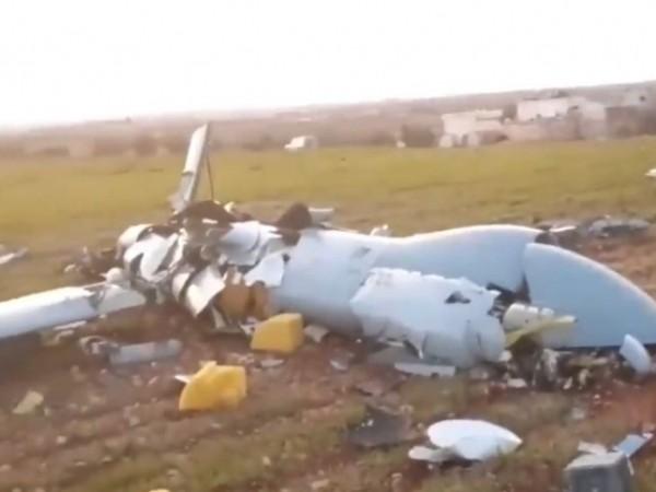 UAV Thổ Nhĩ Kỳ bị bắn hạ ở Idlib, ngày 26-2-2020