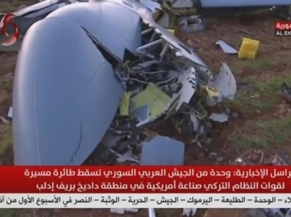 Máy bay không người lái của Thổ Nhĩ Kỳ bị bắn hạ ở Idlib, ngày 25-2-2020