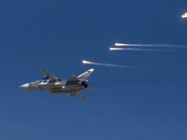 Chiến đấu cơ Nga làm nhiệm vụ diệt khủng bố ở Syria