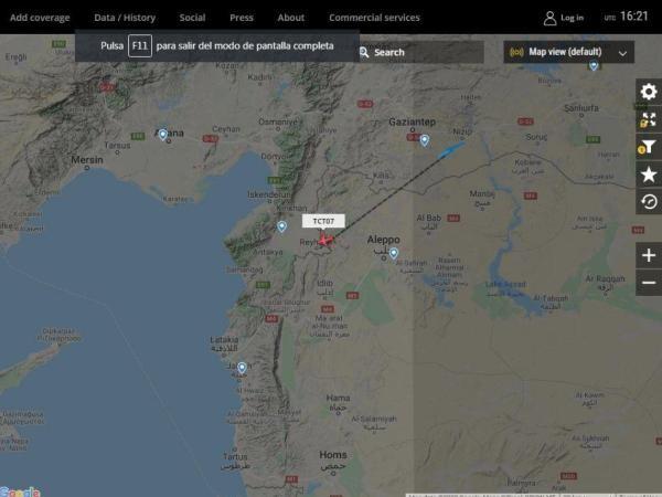 Khu vực bị mất tín hiệu GPS nghi là do hệ thống tác chiến điện tử Nga kích hoạt