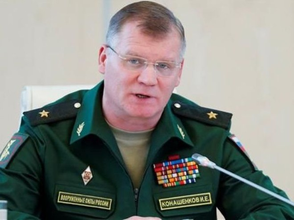 Người phát ngôn của Bộ Quốc phòng Nga, Thiếu tướng Igor Konashenkov