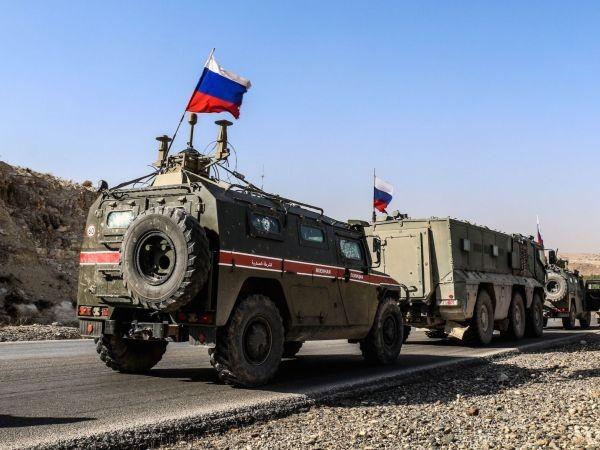 Quân cảnh Nga tiến vào kiểm soát thành phố Serakib