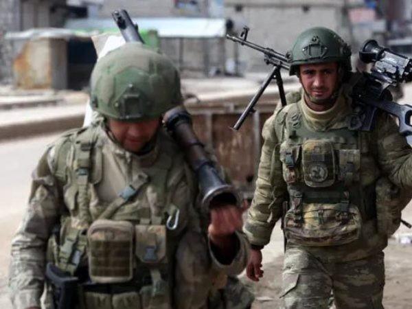 Binh sĩ Thổ Nhĩ Kỳ ở Syria