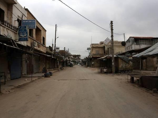 Thành phố Saraqib của Syria