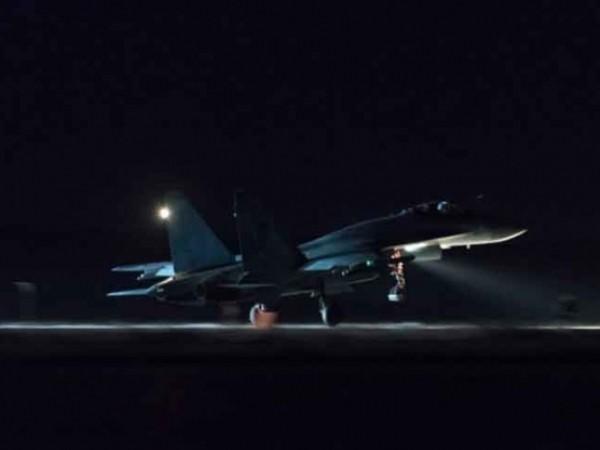 Chiến đấu cơ Su-35 của không quân Nga