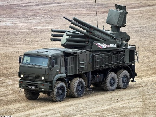 Hệ thống tên lửa - pháo phòng không Pantsir