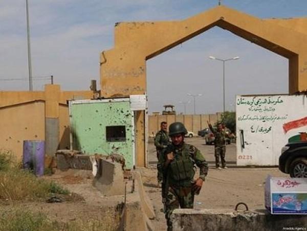 Căn cứ quân sự có lính Mỹ đồn trú ở tỉnh Kirkuk, phía Bắc Iraq