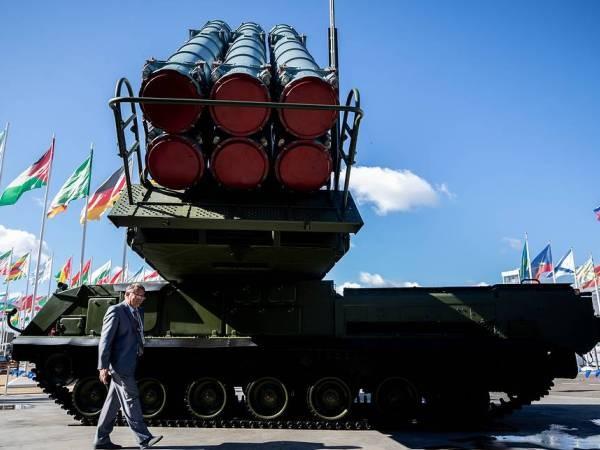 Hệ thống tên lửa phòng không Buk-M3