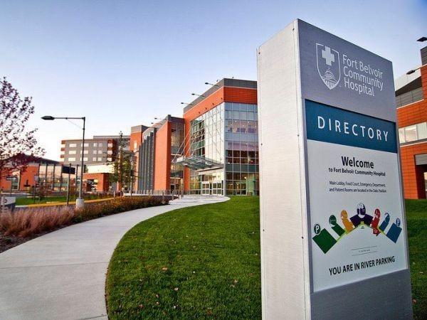 Bệnh viện Cộng đồng Fort Belvoir đang điều trị binh sĩ Mỹ nhiễm Covid-19